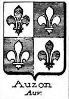 Auzon Coat of Arms / Family Crest 1