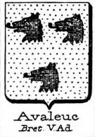 Avaleuc Coat of Arms / Family Crest 0