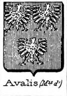 Avalis Coat of Arms / Family Crest 0