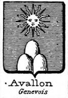 Avallon Coat of Arms / Family Crest 0