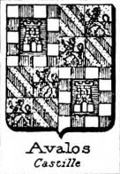 Avalos Coat of Arms / Family Crest 3