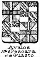 Avalos Coat of Arms / Family Crest 4