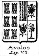 Avalos Coat of Arms / Family Crest 5