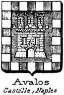 Avalos Coat of Arms / Family Crest 2