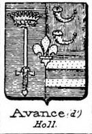 Avance Coat of Arms / Family Crest 0