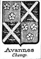 Avannes Coat of Arms / Family Crest 0