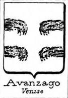 Avanzago Coat of Arms / Family Crest 0