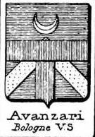 Avanzari Coat of Arms / Family Crest 0