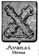 Avanzi Coat of Arms / Family Crest 1