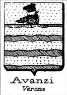 Avanzi Coat of Arms / Family Crest 2