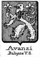 Avanzi Coat of Arms / Family Crest 4
