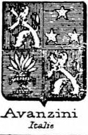Avanzini Coat of Arms / Family Crest 1