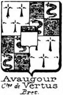 Avaugour Coat of Arms / Family Crest 3