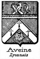 Aveine Coat of Arms / Family Crest 0