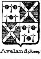 Aveland Coat of Arms / Family Crest 0