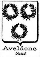 Aveldone Coat of Arms / Family Crest 0