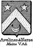 Aveline Coat of Arms / Family Crest 2