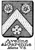 Aveline Coat of Arms / Family Crest 1