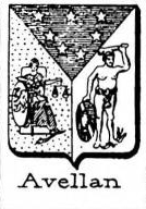 Avellan Coat of Arms / Family Crest 3