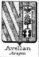 Avellan Coat of Arms / Family Crest 2
