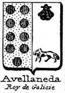 Avellaneda Coat of Arms / Family Crest 2