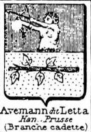 Avemann Coat of Arms / Family Crest 2