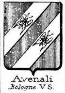 Avenali Coat of Arms / Family Crest 1