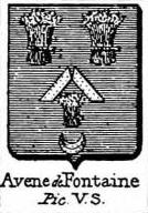Avene Coat of Arms / Family Crest 2
