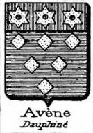 Avene Coat of Arms / Family Crest 1