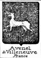 Avenel Coat of Arms / Family Crest 2