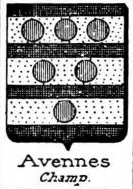 Avennes Coat of Arms / Family Crest 0