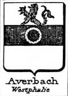 Averbach Coat of Arms / Family Crest 0