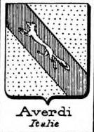 Averdi Coat of Arms / Family Crest 0