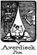 Averdieck Coat of Arms / Family Crest 0