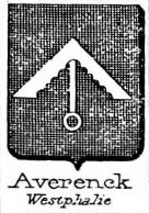 Averenck Coat of Arms / Family Crest 0