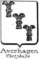 Averhagen Coat of Arms / Family Crest 1