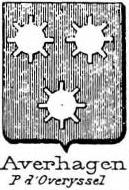 Averhagen Coat of Arms / Family Crest 0