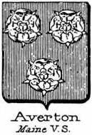 Averton Coat of Arms / Family Crest 1