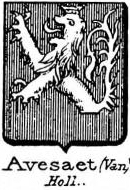 Avesaet Coat of Arms / Family Crest 0