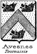 Avesnes Coat of Arms / Family Crest 2