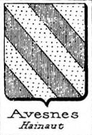 Avesnes Coat of Arms / Family Crest 4