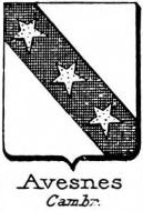 Avesnes Coat of Arms / Family Crest 1