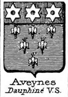 Aveynes Coat of Arms / Family Crest 0