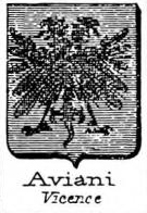 Aviani Coat of Arms / Family Crest 1