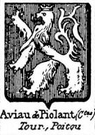 Aviau Coat of Arms / Family Crest 0
