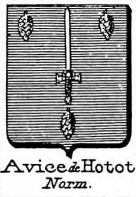 Avice Coat of Arms / Family Crest 1