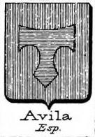 Avila Coat of Arms / Family Crest 3