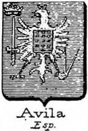 Avila Coat of Arms / Family Crest 4