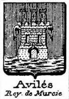 Aviles Coat of Arms / Family Crest 1