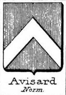Avisard Coat of Arms / Family Crest 0